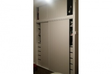 VJ Top and Bottom Sliding Robe Door Sets
