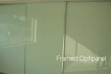 Framed OptiGlass Sliding Robe Door Set